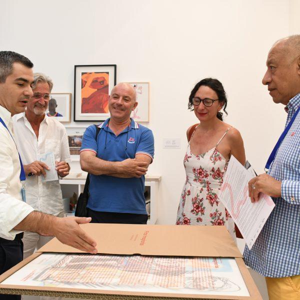 Genalguacil luce su potencial cultural y artístico en Art Marbella