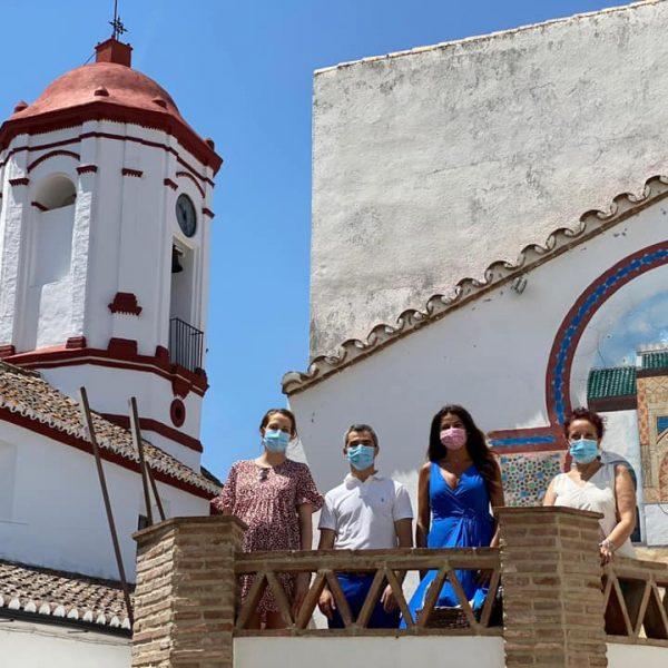 «El arte al aire libre en Genalguacil se ha convertido en uno de los grandes eventos del verano malagueño» con su «original apuesta»